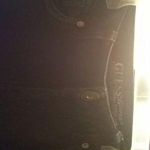 Guess jeans unisex black 32